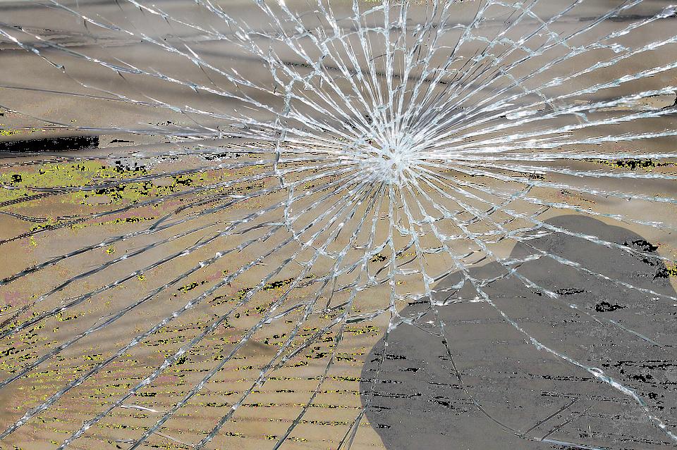 Ødelagt skærm